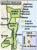 Map of African Project